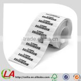 Series Number Barcode Sticker Lables In Rolls