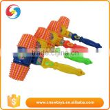 Plastic funny baby small ring hammer toy with sound