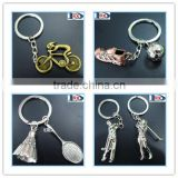 New arrival 3D metal sports keychains for athletic meeting