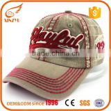 Custom high quality 3D embroidery sports cap 100% cotton baseball caps for men                                                                         Quality Choice