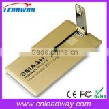 Cheap plastic business card usb pen, visa card usb stick, credit card usb flash drive