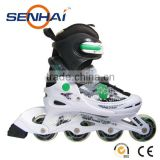 2015 4 PU Wheels Popular Inline Skate Professional Sport Shoes Flashing Roller for Entertainment Roller Skates Shoes