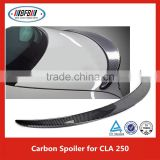 Real Carbon Fiber Rear Trunk Boot Lip Spoiler Fit For B ENZ CLA 250