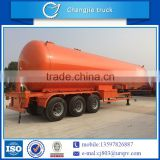 High performance customized for export 58.5m3 tri-axle lpg gas dispenser trailer