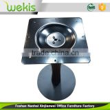 2016 hot sale heavy duty round metal table base for ooffice furniture, restaurants