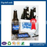 Hot stamping full color dust proof moisture proof beer label