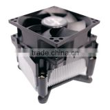 Alseye I-1900 laptop aliuminum heatsink hot selling impulse LGA 775 cpu cooler