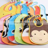 baby products PVC baby drool bibs with pinting FS0037