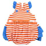 Wholesale baby club clothes cheap girls rompers boutique cotton cute western toddler rompers