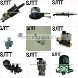 clutch booster, clutch cylinders, air dryers, hand brake valves, brake valves, adjusting arm struck spare parts