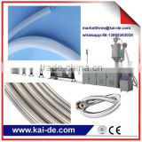 Stainless steel wire braided flexible plumbing hose making machine supplier