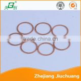 Pressure reducer part custom brass washers in China