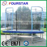 Gym Equipment Gymnastic Trampoline for Sale Inflatable Trampoline Square Trampoline with basketball board SX-FT(E)