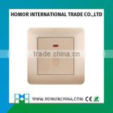 13A/20A wall switch with neon indicator light