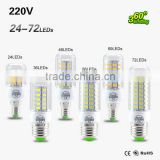 E27 E14 Corn LED bulb Light SMD 5730 7W 12W 15W 18W 20W 21W 220V 240V LED lamp Chandelier Candle Lighting Lampara Bombilla