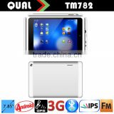 New 3g tablet pc 7.85 inch MTK8312 dual core with WCDMA 3G phone call Bluetooth GPS FM full function IPS Screen Android 4.4 Q