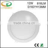 D163*H13MM Energy Saving Green Lighting Lamp Low Power Consumption 3 Years' Warranty 6 Inch LED Downlight 12W