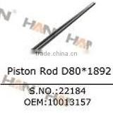 Piston rod D80*1892 OEM10013157 schwing piston rod for putzmeister concrete pump spare parts sany XCMG