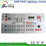 Hot sale International standard DMX 240 controller controller moving head beam light console DJ 512 dmx controller equipment