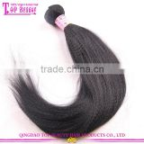 7A grade italian yaki straight 16 inch hair weave wholesale high end quality ebony yaki hair weave
