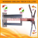 50 inch 360 degrees swivel retractable LED LCD tv wall bracket