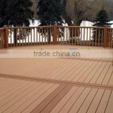WPC Decking Board with Outdoor Composite Timber, No Painting Required, Provides Unique Applications