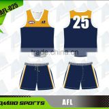 AFL away jumper and shorts