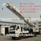 BZCY400ZY truck mounted drilling rig Sent to the Xinjiang production and Construction Corps