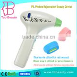 Chest Hair Removal 2015 New Home Use Portable 10MHz IPL Photon Photofacial Hair Laser Removal Device Shrink Trichopore