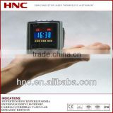 household physiotherapy device HNC wrist laser watch blood purifying for healthcare laser therapy instrument