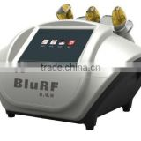 desktop/portable 633nm specific wave beam with vacuum and RF liposuction slimming machine(CE approved)
