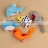 Ocean Soft Animal Stuffed Puppet toy Baby kids Plush Finger puppets Toys 10Pcs set