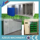 Hydroponics animal fodder growing system for growing alfafa,barley,wheat sprouts seeding machine for sale