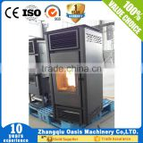 Pellet stove water heating in China