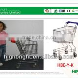 baby steel wire shopping cart
