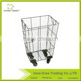 Hot Selling OEM Iron Wire Laundry Basket