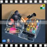 Acrylic makeup box organizer spinning acrylic lipstick holder cosmetic organizer from shenzhen yidong