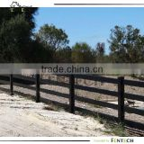 High quality durable white/beige/tan/black/horse fence factory