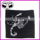promotional funny woven sweatbands