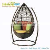Swing Hanging Chair Used Rattan Garden Treasures Outdoor Furniture
