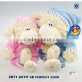 ISO 9001 Factory supply customized plush stuffed sheep toy for baby