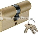double open brass high quality cylinder