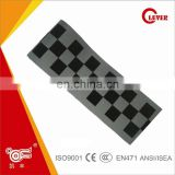 Grey High Reflective Tapes Print Black Square Logo EN471 Class2
