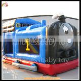 Attractive thomas train inflatable bounce house,bouncy playground for toddler,jumper castle for kids play