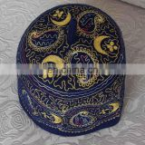 muslim wool embroidered prayer cap
