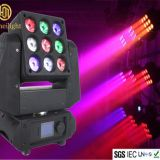 Stage decoration lamp 3X3 LED Shake Head Matrix 9 Moving Head Beam Light
