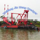 China Low Price Cutter Suction River Sand Dredger / Sea Dredgeing Machine for Sale river sand dredger