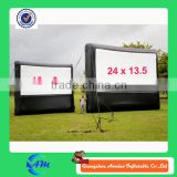 High quality TPU or PVC inflatable outdoor movie screen,inflatable moving screen,movie screen inflatable for sale