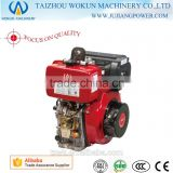 High quality 1-cylinder 4-stroke air-cooled Diesel Engine Good Price 186FA Diesel Engine