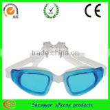 OEM custom silicone anti-fog swimming goggles for adults and kids